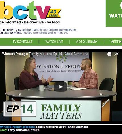 Family Matters Episode 14 – Chad Simmons, Southeast Vermont Building Bright Futures