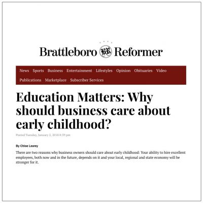 Family Matters: Why should business care about early childhood?