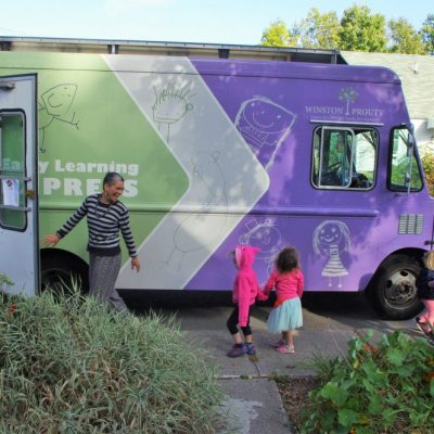 "Winston Prouty Center Seeks to ""Raise the Roof"" for Early Learning Express Bookmobile."