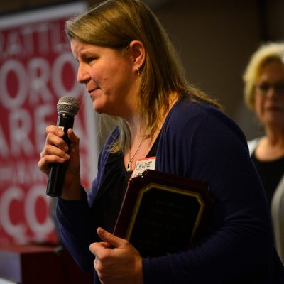 Chamber of Commerce awards: Overcoming personal hardship, Heydinger named Person of the Year