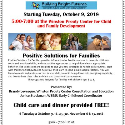 Free 6-Week Parenting Education Series