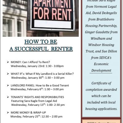 How to Be a Successful Renter workshop series