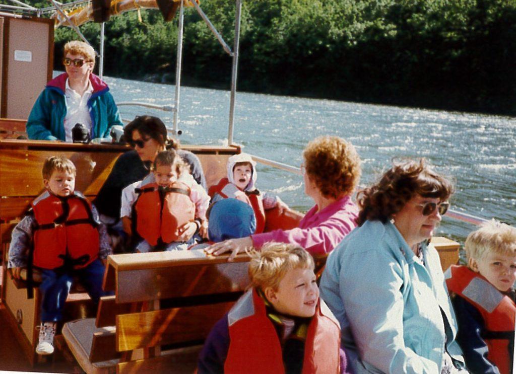 Winston Prouty boat ride