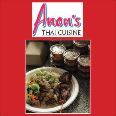 Anon's Thai Cuisine Coming to Prouty Campus May 15