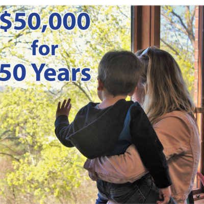 $50,000 for 50 Years Campaign
