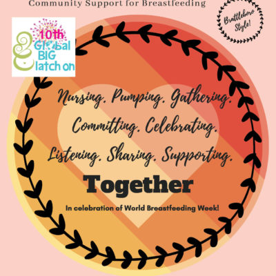 World Breastfeeding Week: August 1-7, 2019