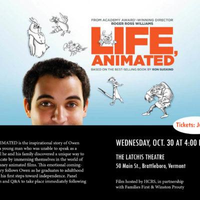 """Life Animated"" film screening"