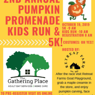 The Pumpkin Promenade 5k & Kids Fun Run