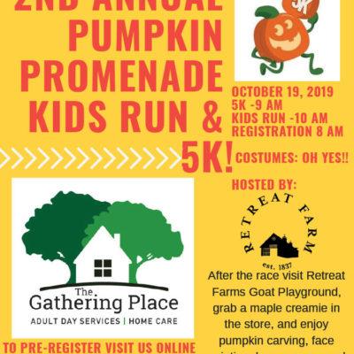 The Pumpkin Promenade 5k & Kids Fun Run