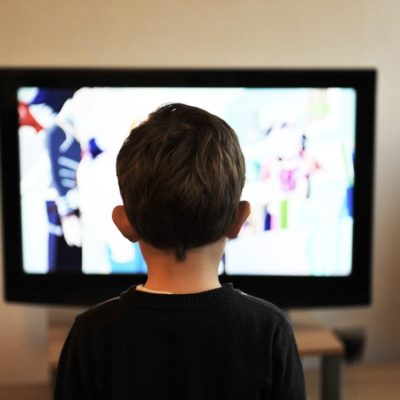 Screen time and brain development