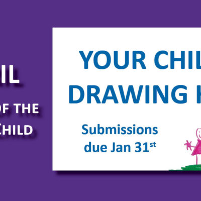Seeking children's art submissions for Month of the Young Child