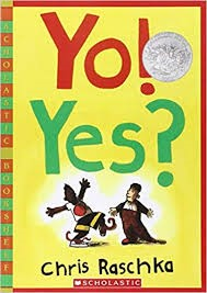 The Book Nooke: Yo! Yes? for MLK Day