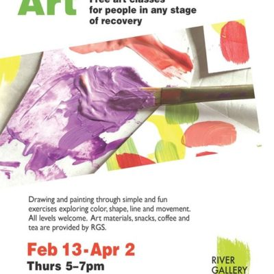 Abstract Art: Free art classes for people in recovery