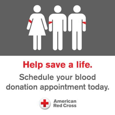 Red Cross Blood Drive set for May 22 on Winston Prouty Campus