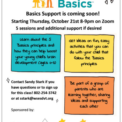 The BASICS: five-part class and parent support group